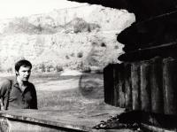 Václav Mezřický near Beroun, ca 1972-75