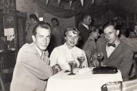 Václav Mezřický (on the right) during the trip to East Germany, ca 1955 or 1956