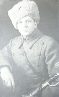 Otec Vladimír Procházka jako legionář