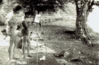 Ivan s maminkou, asi 1962