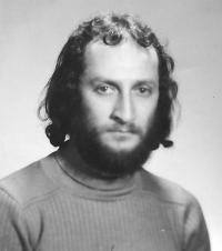 Ivan Bukovský, portrait, about 1980