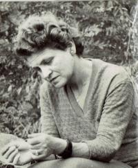 Mariana Bukovská, Ivan´s mother, about 1955