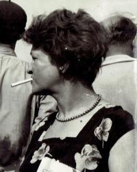 Mariana Bukovská, about 1960