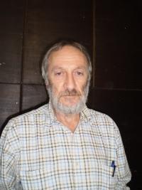 Ivan Bukovský in his studio, Příbram 2016