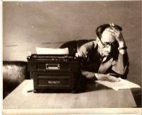 Ota Bukovský v typické situaci, Praha asi 1962