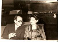 Ivanovi rodiče, Praha asi 1959