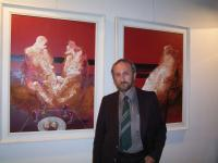 Ivan Bukovský, his exhibition in Rome in 2005