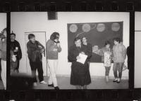 Z vernisáže Legionářského cyklu, rok 1988
