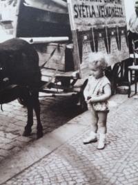 Miroslav Čvančara in the childhood