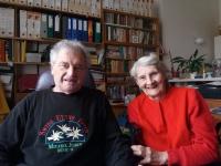 Miroslav Čvančara with his wife in the 2016