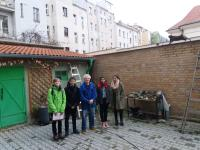 Pupils from the project Stories of Our Neigbours with Miroslav Čvančara