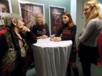 Ludmila Janská with pupils from the Elementary School at Svoboda Square in the ABC Theatre, 2016