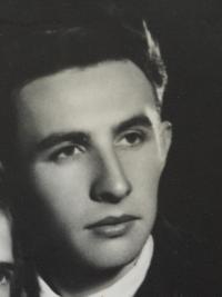 Bohumil Benák in 1950s