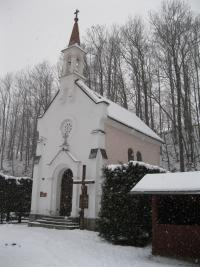 Chapel in Nýznerov in 2011