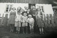 Family Hadwigerová in Nýznerov