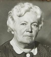 Mother Anna Hadwigerová