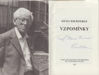 Otto Wichterle's book