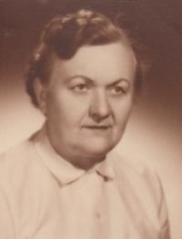 Anna Aloisie Brůnová née Miškovská 1903 - 1990, mother