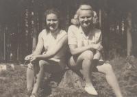 Sisters Blanka and Věra