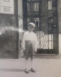 Jaroslav Vetter as a Child