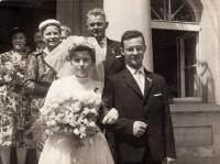 Wedding with Pavlou Burianovou (1961)