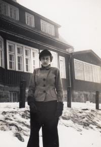 Edita Gaertner, mother