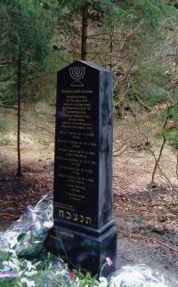 Death march memorial, Krásná Lípa