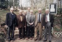With friends, former prisoners of Schwarzheide, 2005