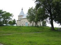 Orthodox church in Czech Malin in 2009