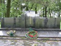 Monument to victims in the Czech Malin in 2009