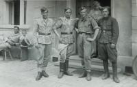 Amid cousin Anthony Glanc in the Czechoslovak Army Corps