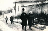 Parents Josef and Helen Šimek in Šumperk