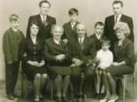 Whole family, around 1965