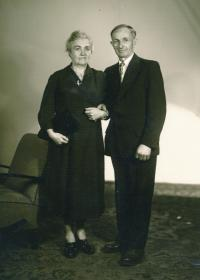 Parents, around 1949