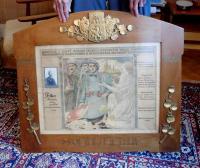 Commemorative certificate of legionaries for his father František Palka