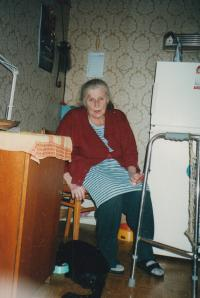 manželka Vlasta, 78 let, zem. 2008