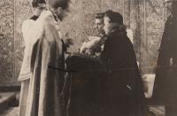 Svatba prosinec 1949