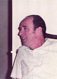 Husband, Otto Immerglück (later Idan), 1972