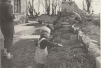 Garden by the family house of  Dohalsky in Lysa nad Labem