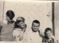 Four brothers Dohalsky, from left Vaclav, Jiri, Antonin and Zdeněk