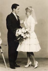 Svatební foto, 29.4.1961
