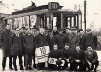 Mužstvo Rudé hvězdy Brno, rok 1965