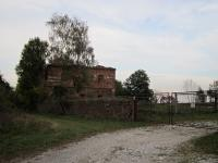 Disappeared village of Hamberk / a ruin of a house, where the Irena Ondruchová lived in 1945 - 1954 /picture from 2013