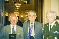 Josef Kovářík with Luboš Hruška and Miroslav Kácha