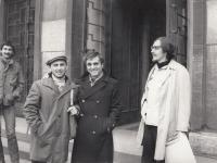 J. Mlčoch, K. Miler, G. Politi, P. Štembera, druhá pol. 70. let