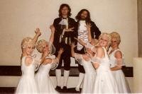 Kulisáci ve Slezském divadle v Opavě / 1988