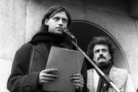 Listopad 1989 / Ivo Mludek a Pavel Dostál