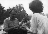Alfréd Kocáb a Věra Tydlitátová, 1978