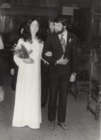Tydlitátovi, Wedding, 1982