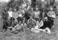 Společnost přátel USA krátce po založení v roce 1987